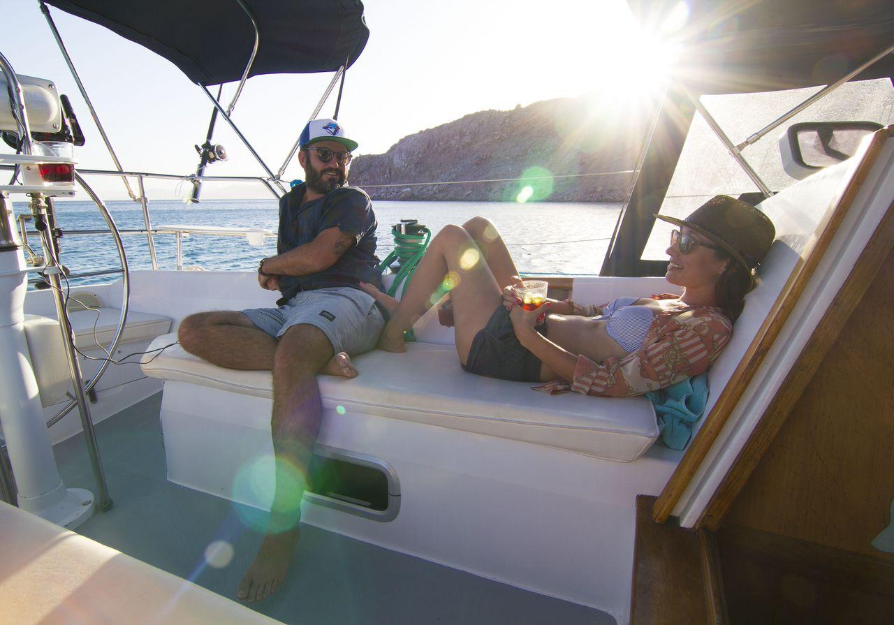 Michael on Yacht